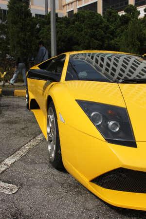 lamborghini: Fog view of Lamborghini Murcielago at Genting roadshow
