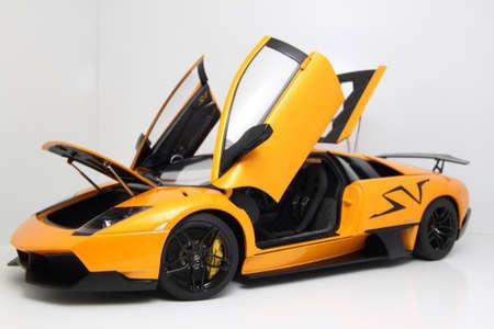lamborghini: Lamborghini Murcielago SV edition diecast car