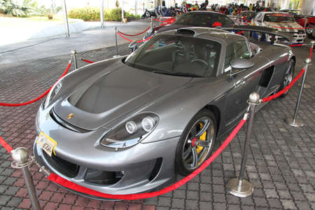 carrera: Porsche Carrera GT at roadshow