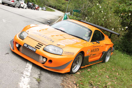toyota: Toyota Supra at sport car gathering