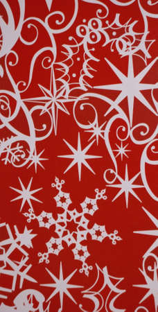 Red christmas background (not vector file) Stock Photo - 3007122