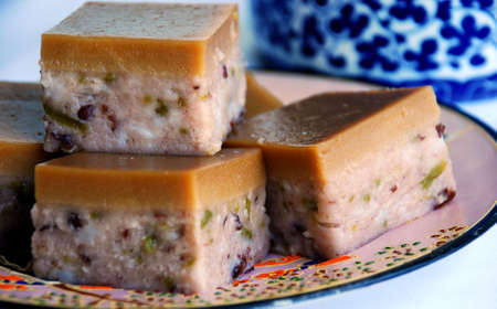 flavoursome: Asian delights, Nyonya kueh cendol Stock Photo