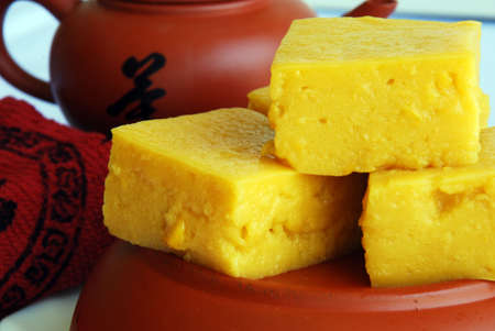 flavoursome: Asian delights, nyonya kueh jagung (corn cake)