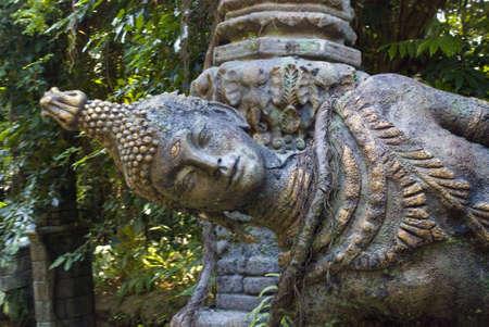artifact: Buddhist monument artifact, tilted