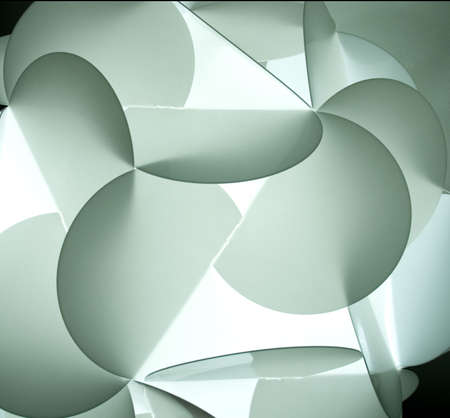 garde: Interior designer light - origami ornament