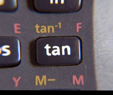 tangent: Tangent button - scientific calculator