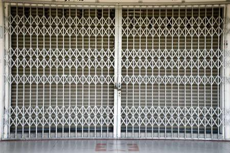 metal gate - iron fence