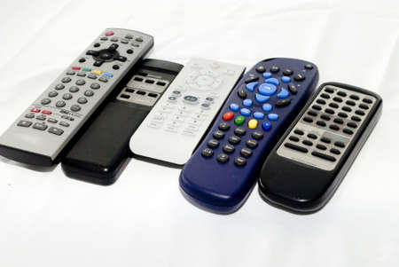 Remote Control on white background photo
