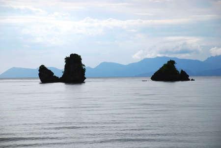 Beach landscape - Tanjung Rhu, Langkawi photo