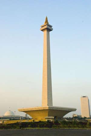 Monas monument, Jakarta, Indonesia Stock Photo