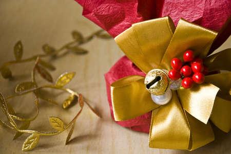 Premium christmas gift Stock Photo