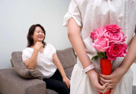 Flower for mum Stock Photo - 4411722