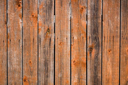 wood panel: Vintage wood background. Grunge wooden weathered oak or pine textured planks. Brown rustic fence. Stock Photo