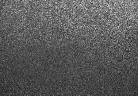 Grey texture. Macro shoot of non-stick surface of frying pan. Horizontal color photography.