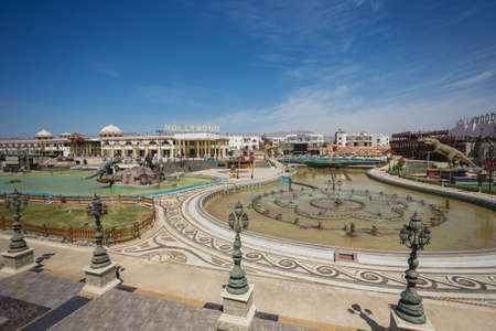 SHARM EL SHEIKH, EGYPT - 16 MAY 2018: Hollywood - entertainment center in Egypt in Sharm El Sheikh. Éditoriale
