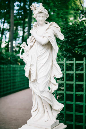 saint petersburg: Ceres in summer garden from saint petersburg