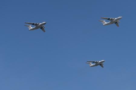 Russian Ilyushin Il-76 Cargo planes Editorial