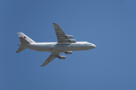 Russian Antonov 124 Strategic Airlift Cargo plane