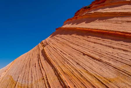 paria: Sandstone swirl Coyote Buttes Paria Canyon-Vermillion Cliffs Wilderness Area, Arizona, USA Stock Photo