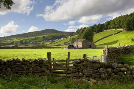 Gunnerside, Swaledale, Yorkshire, England photo