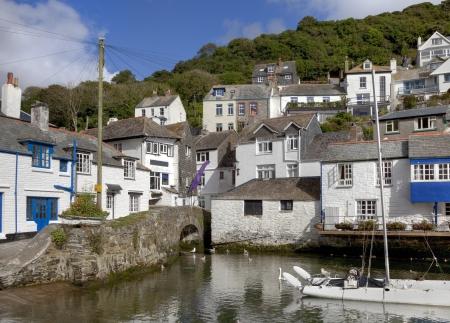 holiday destination: The popular holiday destination of Polperro, Cornwall, England.