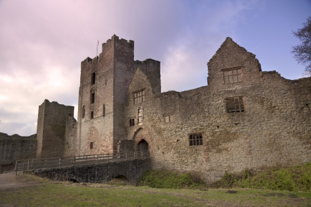 Ludlow Castle, Ludlow, Shropshire, Engeland