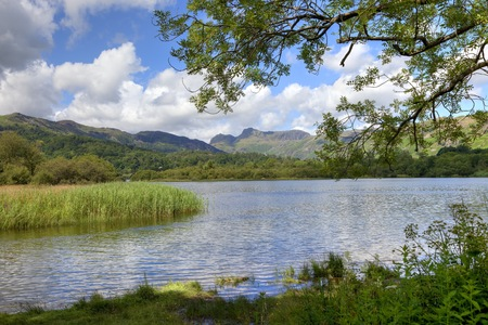 Elterwater, the Lake District, Cumbria, England Stock Photo - 24517828