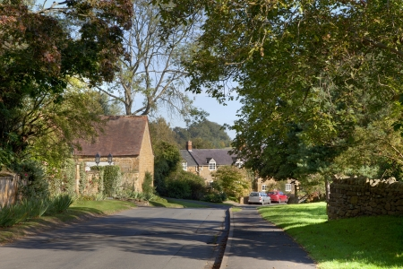 cotswold: Cotswold village of Ilmington, Warwickshire, England