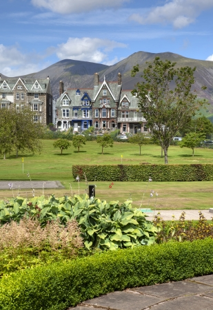 Hope Park, Keswick, the Lake District, Cumbria, England  Stock Photo - 24521142
