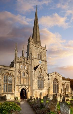 Johannes de Doper kerk, Burford, Oxfordshire, Engeland