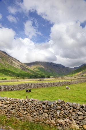 Wasdale Head near Wast Water, the Lake District, Cumbria, England  photo