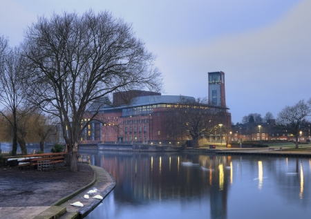 rsc: Royal Shakespeare Company Theatre, Stratford upon Avon, Warwickshire, England.