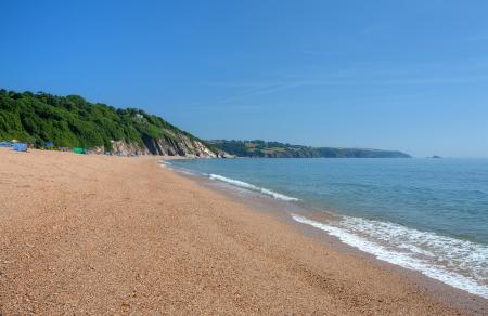 holiday destination: The popular holiday destination of Slapton Sands, Devon, England. Stock Photo