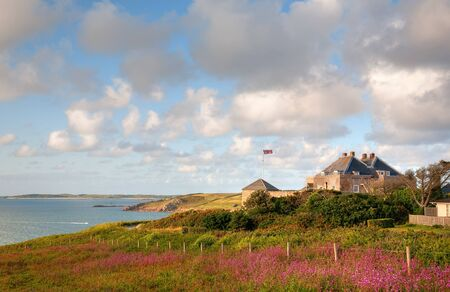 scilly: Star Castle Hotel on St Mary's, Isles of Scilly, Cornwall, England.