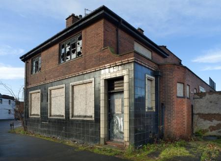 De Round Oak openbaar huis, West Midlands, Engeland.