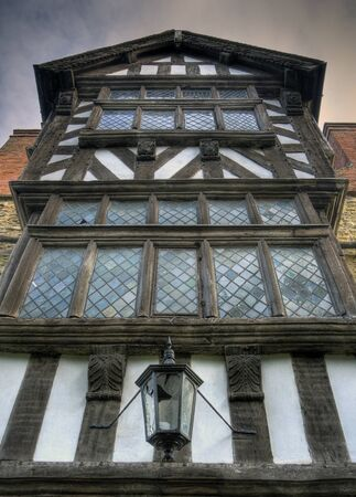 Tudor box frame house, Ludlow, Shropshire, England. photo