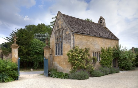 cotswold: Small Cotswold chapel, England Stock Photo