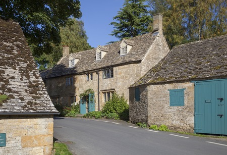 cotswold: Cotswold village of Snowshill, Gloucestershire, England Stock Photo