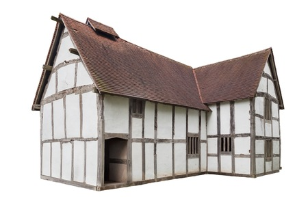 tudor: English Tudor House cut-out