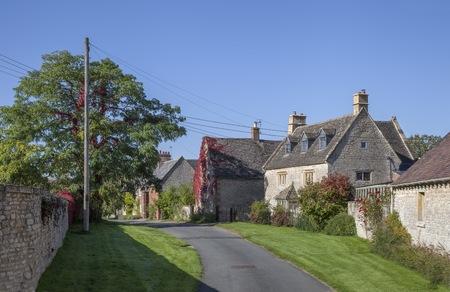 Halford dorp, Warwickshire, Engeland.