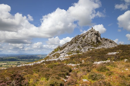 upland: Rocky outcrop at Stiperstones, Shropshire, England