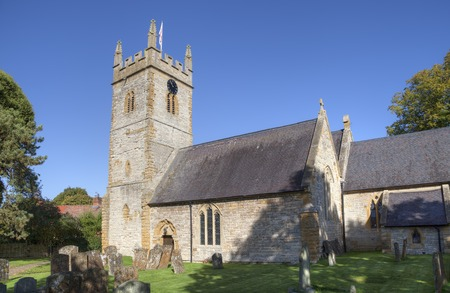 british isles: Church at Halford, Warwickshire, England