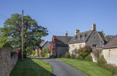 warwickshire: Halford village, Warwickshire, England.