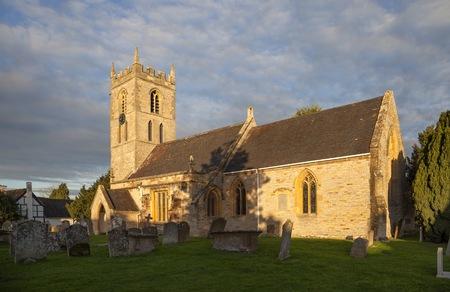 welford on avon: Church at Welford on Avon, Warwickshire, England.