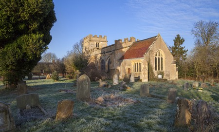 Church at Weston on Avon, Warwickshire, England.