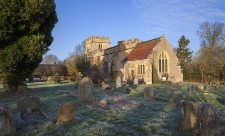 warwickshire: Church at Weston on Avon, Warwickshire, England.