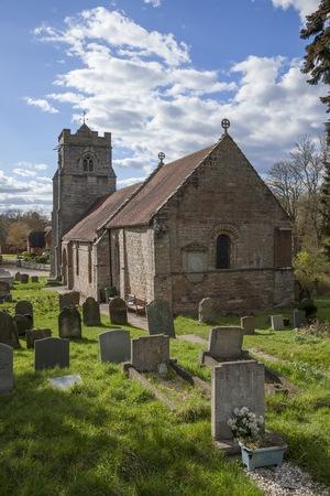 warwickshire: Henley in Arden church, Warwickshire, England