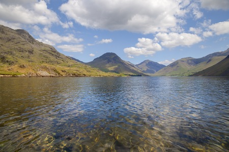 lake district: Wast Water, Lake District, Cumbria, England