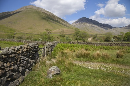 lake district: Wasdale Head, The Lake District, Cumbria, England