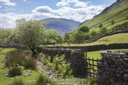 lake district: Wasdale Head, the Lake District, Cumbria, England Stock Photo